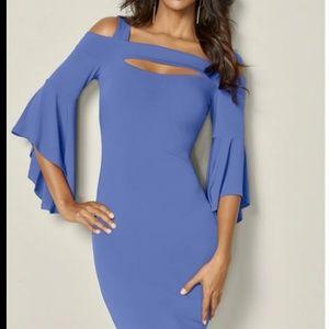 Venus Cold Shoulder Bodycon dress